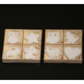 box ciondoli cotone