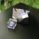 MINI FLOWERCUBE CM4,5X4,5 ROSA PRECIOUSE AZZURRO+SHOPPER