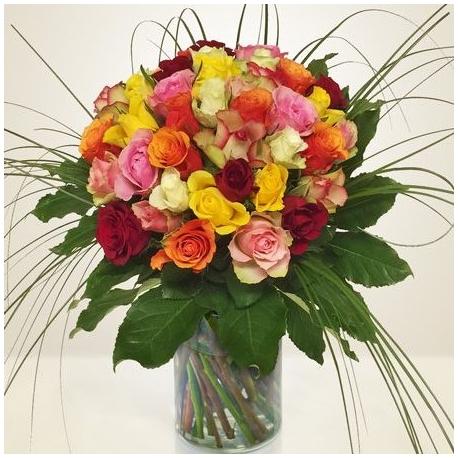 Gruppo Soria Bouquet Rose Multicolore