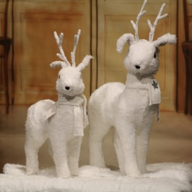 26X12X40CM COTTON STAND DEER