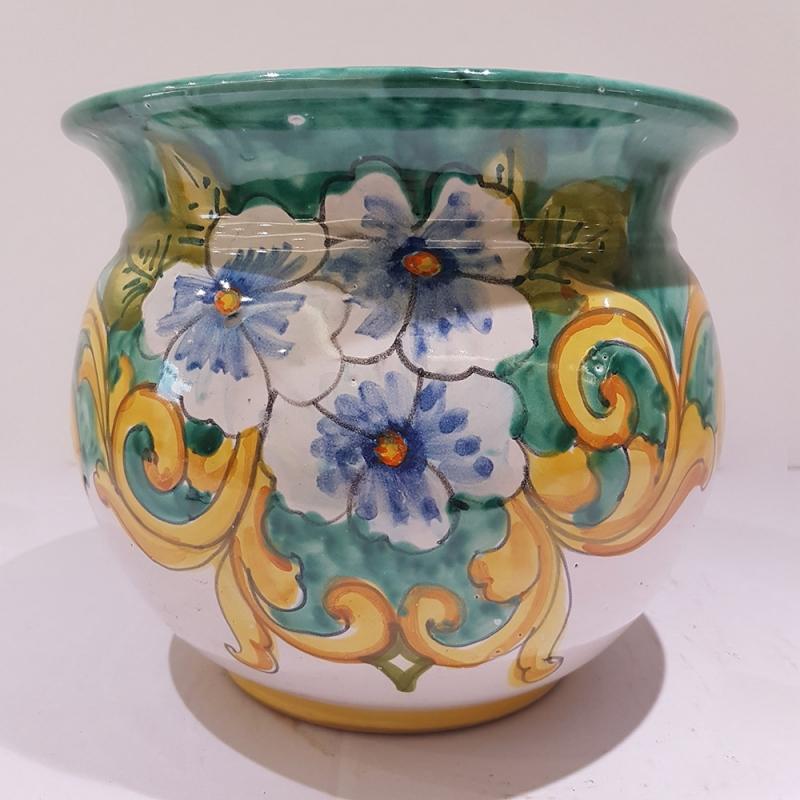 Vasi In Ceramica Di Vietri.Vasta Selezione Tra Qualche Giorno Retro Vaso Ceramica Vietri