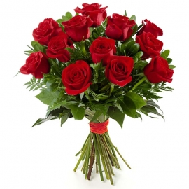 Rose Rosse Stelo Lungo 18 steli