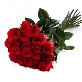 Rose Rosse Stelo Lungo 24 steli