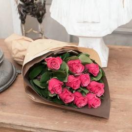 5 Rose stelo lungo vari colori