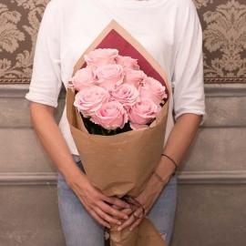 12 Rose stelo lungo vari colori