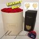 Magic moment Luxury tonda D.30 (Flower box) con rose stabilizzate