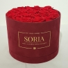Scatola (Flower box) con rose Fresched.25