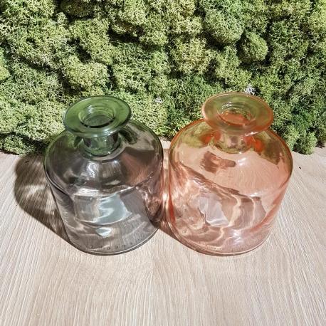 Vaso  Bottiglia in Vetro 11cm