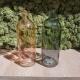 Vaso  bottiglia in  Vetro 20cm