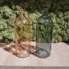 Coppia Vaso  bottiglia in  Vetro 20+27