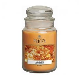 Amber Large Jar