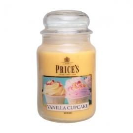 Large Jar Vanilla Cupcake
