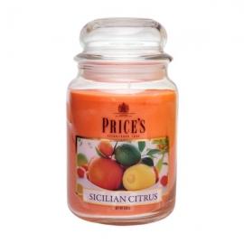 Large Jar Sicilian Citrus