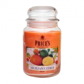 Large Jar Sicilian Citrus