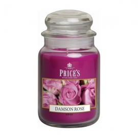 Large Jar Damson Rose