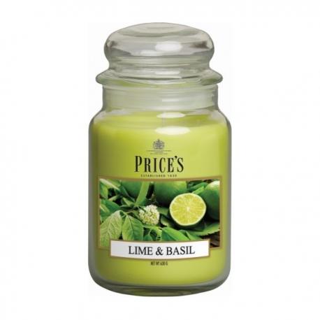Lime & Basil Large Jar