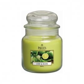 Lime & Basil Medium Jar