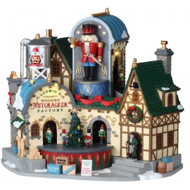 LEMAX-LUDWIG'S WOODEN NUTCRACKER FACTORY