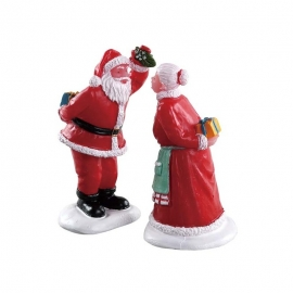LEMAX-UNDER THE MISTLETOE SET OF 2