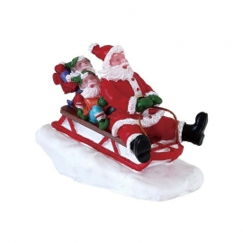 LEMAX-SLEDDING WITH SANTA
