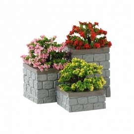 LEMAX-FLOWER BED BOXES SET OF 3