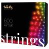 Twinkly 600L 4.3MM Luci di Natale, RGB lens light string, GEN II, IP44