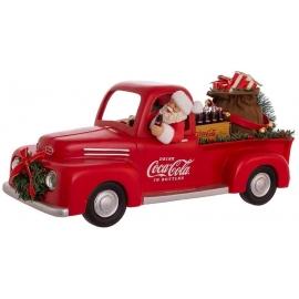 """14"""" Babbo Natale in Pickup COCA-COLA  - Kurt S. Adler"""