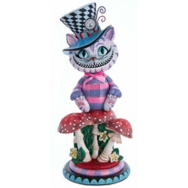 "Schiaccianoci CHESHIRE CAT HOLLYWOOD 15""- Disney - Kurt S.Adler"