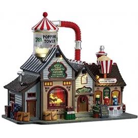 Lemax-Bell's Gourmet Popcorn Factory