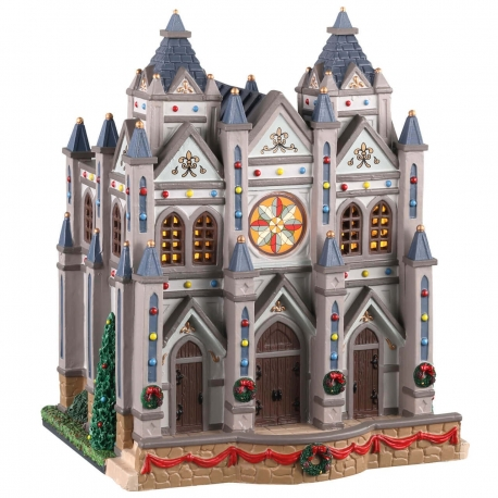 Lemax-Christmas At The Cathedral