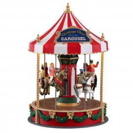 Lemax-Christmas Cheer Carousel