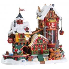 Lemax-Elf Made Toy Factory ( fabbrica dei Giocattoli)