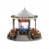 Lemax-Holiday Garden Green Bandstand With 4.5v Ada