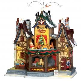 Lemax-Holiday Hamlet Christmas Shoppe