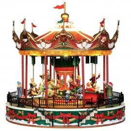 Lemax-Santa Carousel