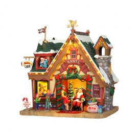 Lemax-Santa's Cabin