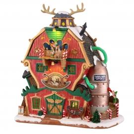 Lemax-Santa's Reindeer Training Academy