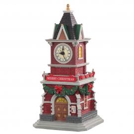Lemax-Tannenbaum Clock Tower