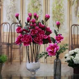 MAGNOLIA SPRAY X 3 cm.60stelo con 3 fiori