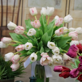 TULIPANO NATURAL TOUCH-WHT